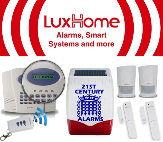 LuxHome Wireless Alarm