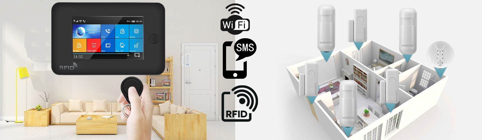 SafeGuard Wireless Alarm System from £350 installed