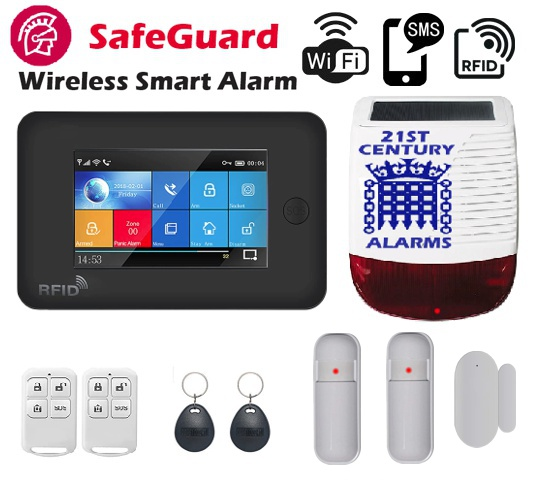 SafeGuard Wireless Alarm System