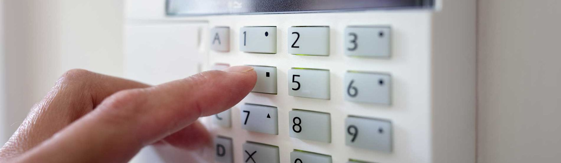 Burnley Alarm Keypad